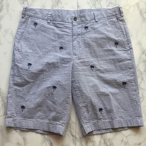 Men's 36 Brooks Brothers 346 Palm Tree Shorts